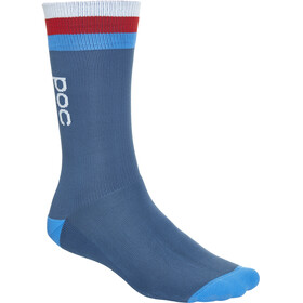 POC Essential Mid Length Socks Men cubane multi blue